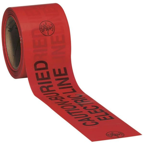 3 in. x 1000 ft. Barricade and Warning Tape