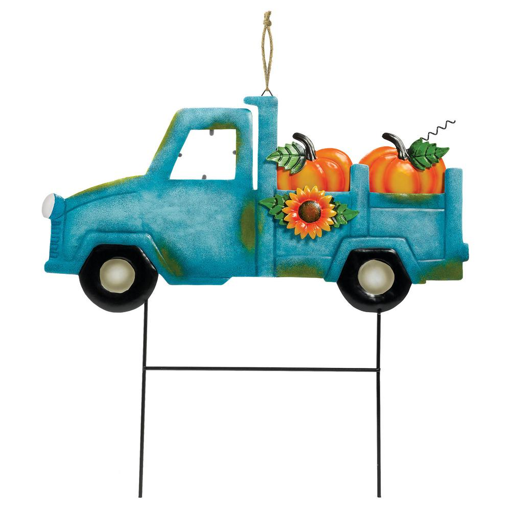 Amscan 16 in  x 15 75 in  Fall Harvest Truck Stake (3-Pack)