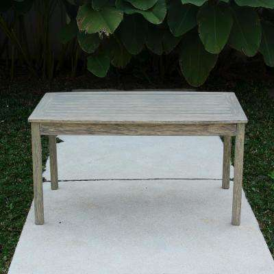 Tulle Rectangular Wood Outdoor Coffee Table