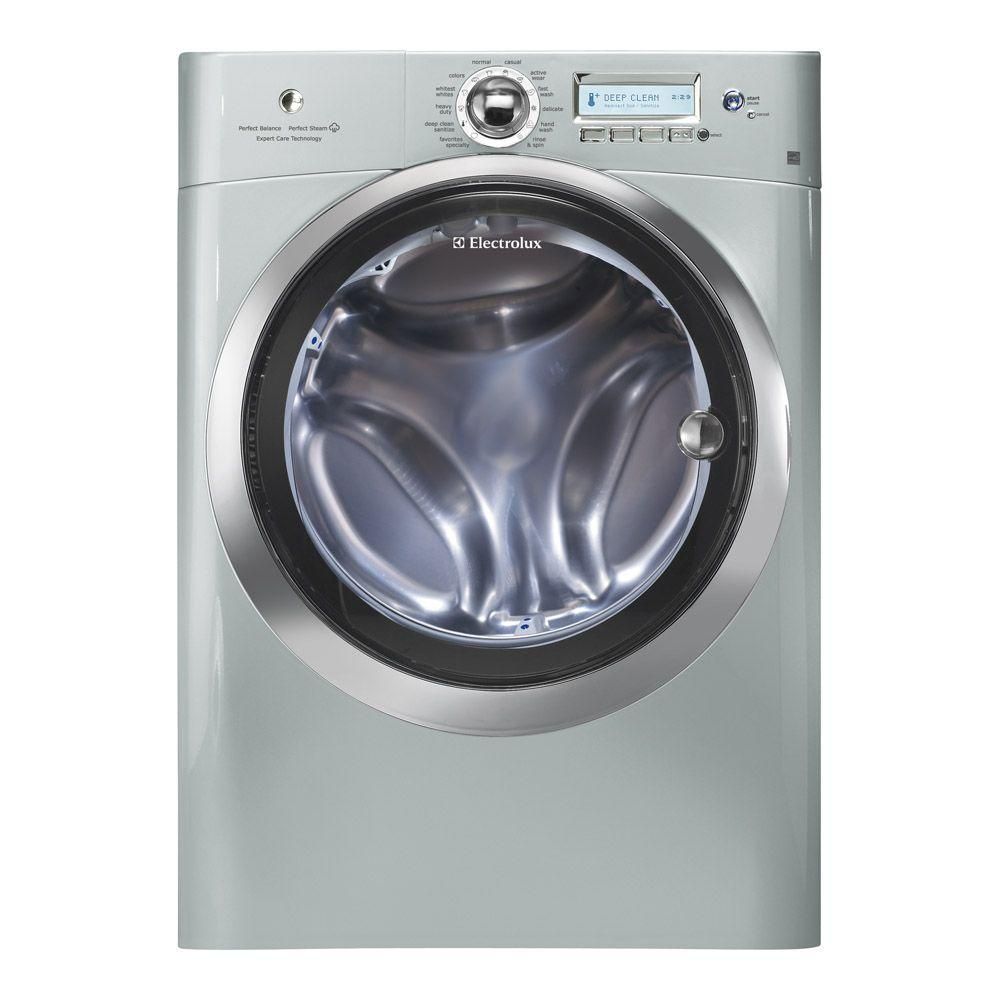 Electrolux Wave-Touch 4.4 cu. ft. High-Efficiency Front Load Washer with Steam in Silver Sands, ENERGY STAR