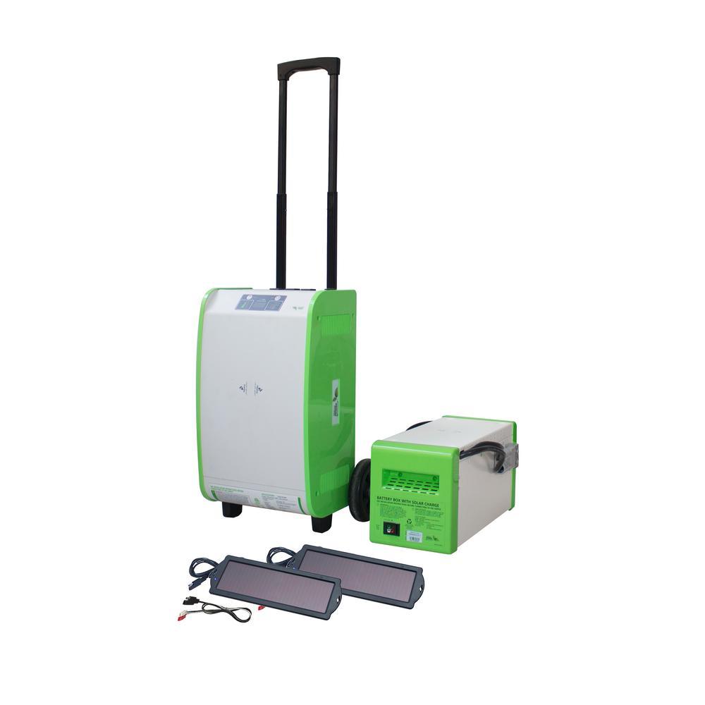 1,800-Watt Indoor/Outdoor Portable Generator 160 Starter Kit