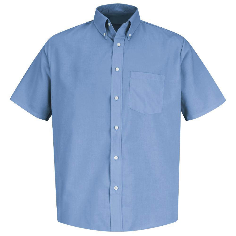 Men's Size XL Light Blue Easy Care Dress Shirt