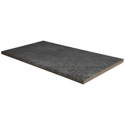 0.78 in. x 13 in. x 24 in. Quarzo Gray Glazed Porcelain Pool Coping (26-Pieces/56.33 sq. ft./Pallet)