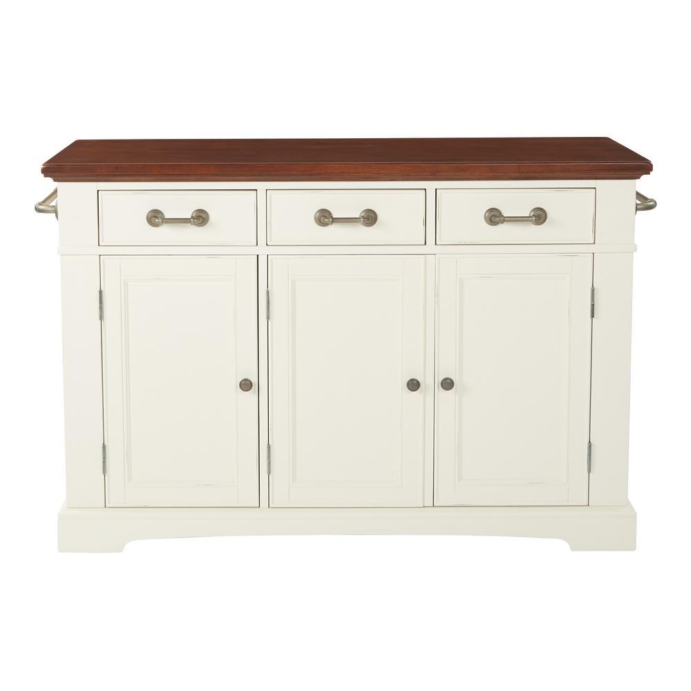 Osp Home Furnishings Basic Kitchen Vintage Oak Granite Top Vintage Oak 16137