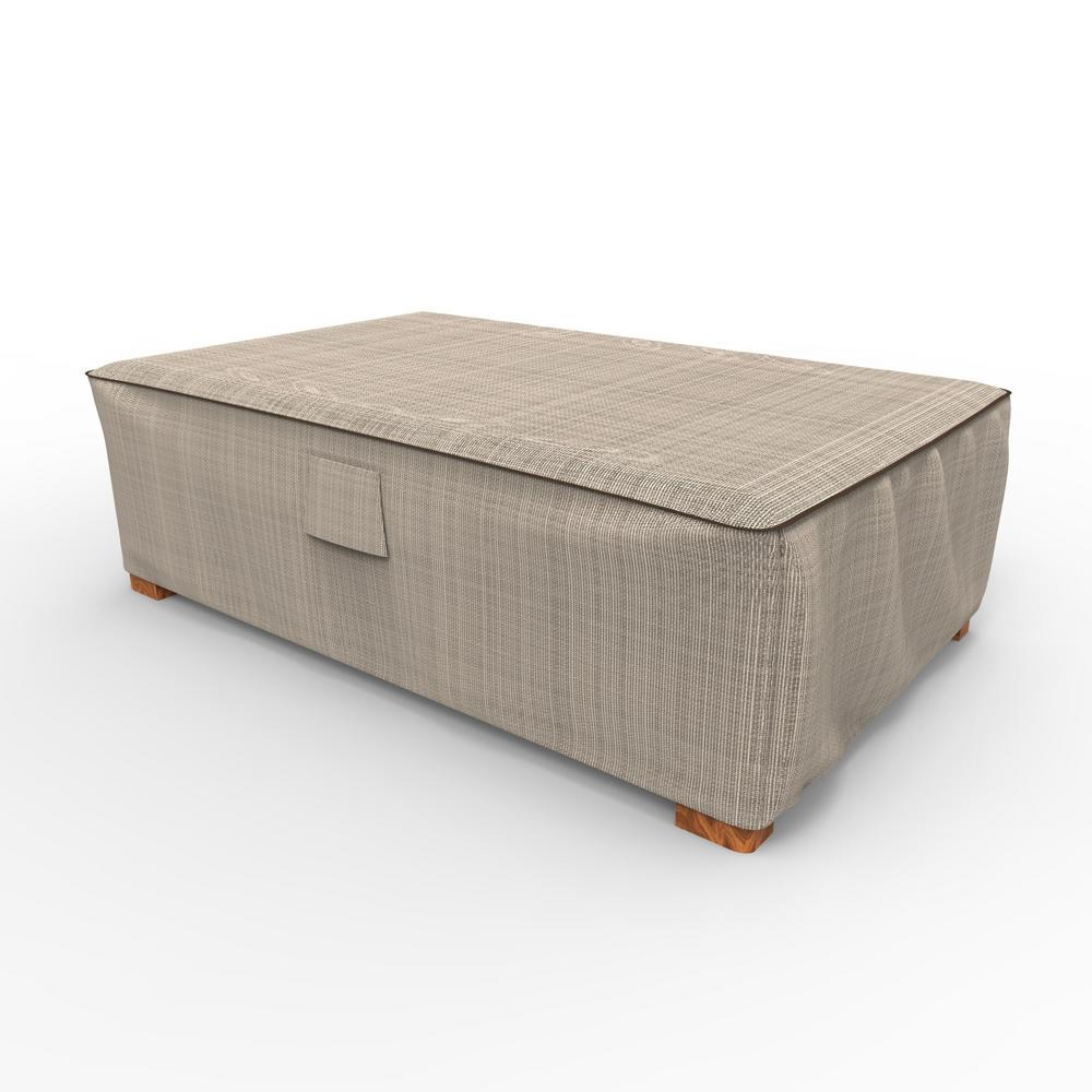 large garden furniture cover. Budge English Garden Large Patio Ottoman / Coffee Table Covers-P5A36PM1 - The Home Depot Furniture Cover