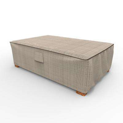 English Garden Large Patio Ottoman / Coffee Table Covers