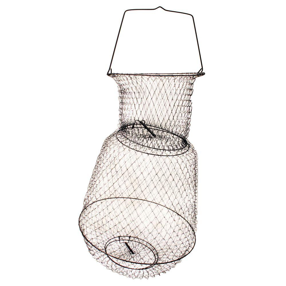 Eagle Claw 15 in. x 25 in. Large Fish Basket-11050-001 - The Home Depot