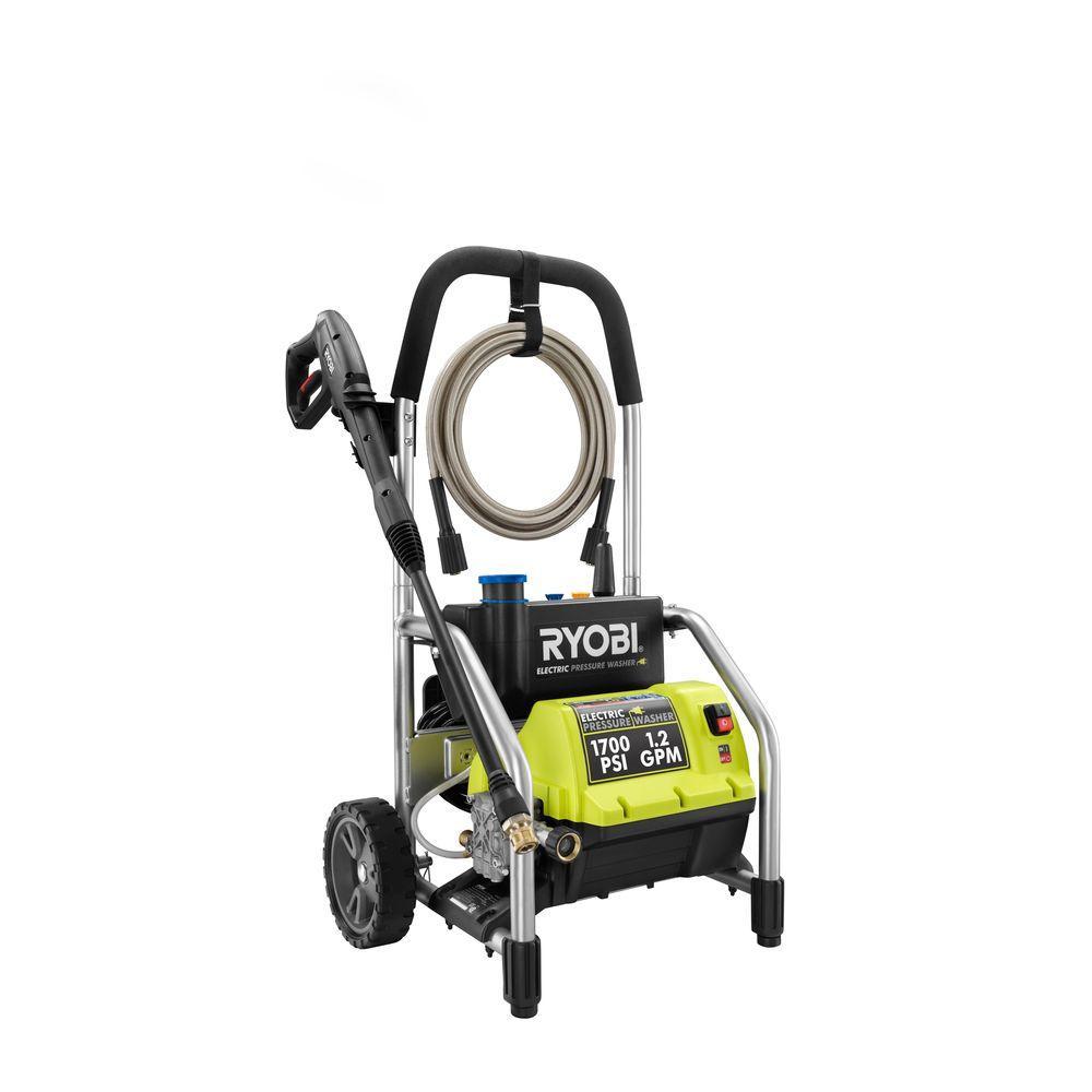 RYOBI 1,700 psi 1.2 GPM Reconditioned Electric Pressure Washer