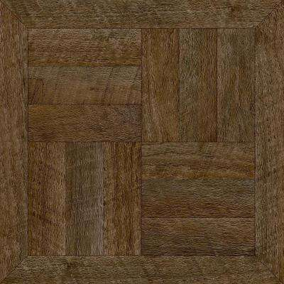 take home sample heirloom brown peel and stick vinyl tile flooring 5 in