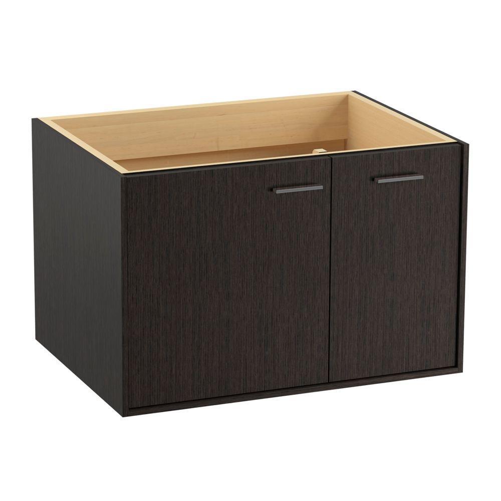 Vanity Cabinet In Satin Oak