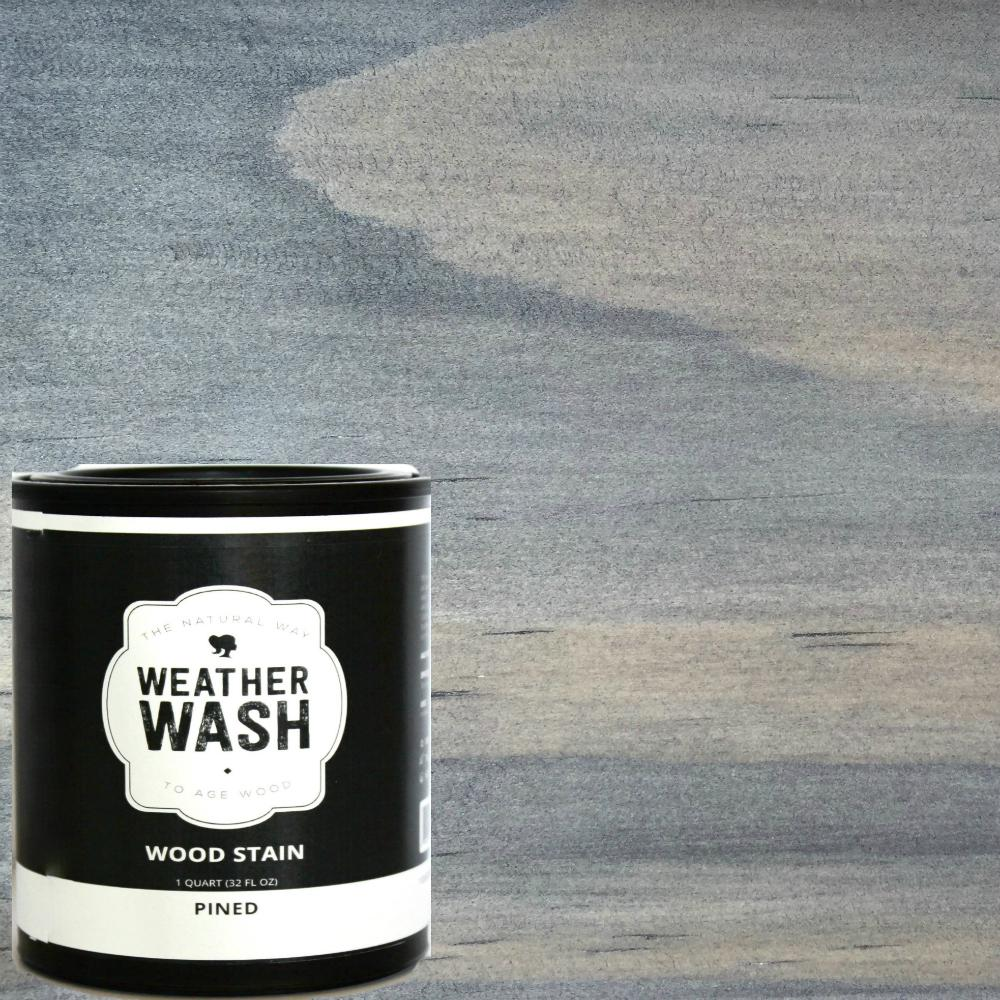 1 Qt Pined Interior Exterior Weatherwash Aging Stain 0021