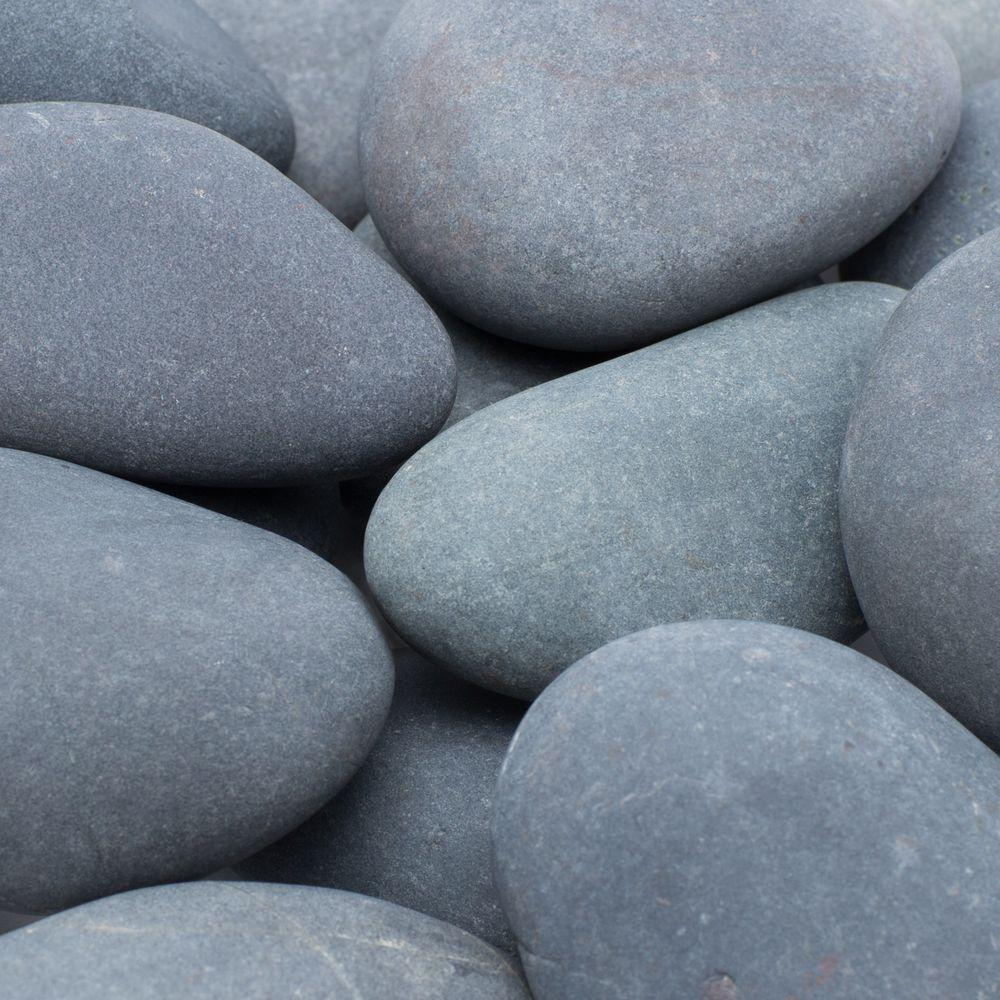 Rain Forest 30 lb. 2 in. to 3 in. Mexican Beach Pebbles