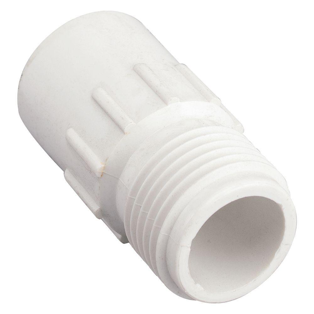 1/2 in. Slip x 3/4 in. MHT PVC Fitting