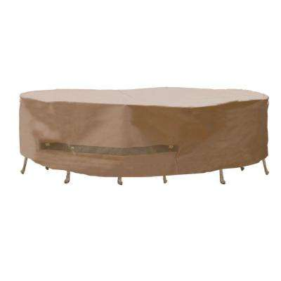 Polyester Deep Seating Patio Chat Set Cover with PVC Coating