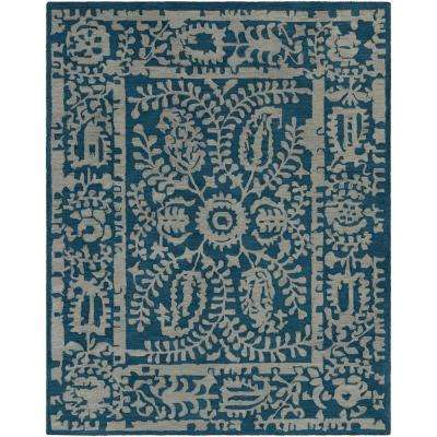 Sabeen Navy 8 ft. x 10 ft. Area Rug