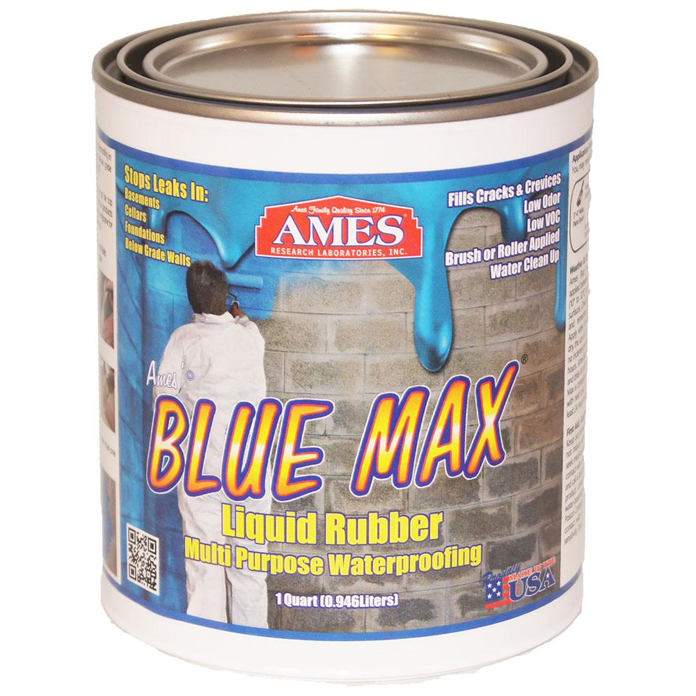 Ames Blue Max 1 Qt. Basement Waterproofing Sealer Regular