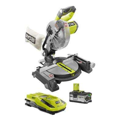 18-Volt 7-1/4 in. Compound Miter Saw Kit