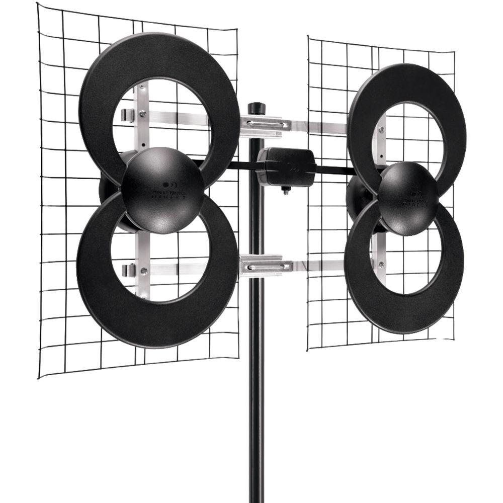 Antennas Direct 4 Quad-Loop Outdoor Antenna