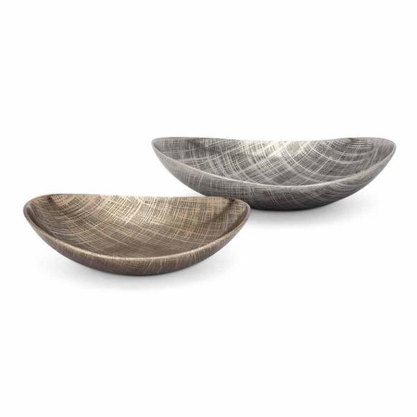 Ian Aluminum Decorative Trays (Set of 2)