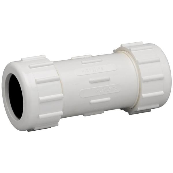 2-1/2 in. PVC Compression Coupling