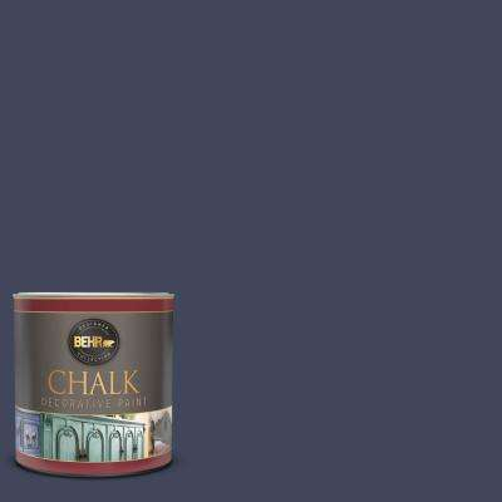 1 qt. #S530-7 Dark Navy Interior Chalk Decorative Paint