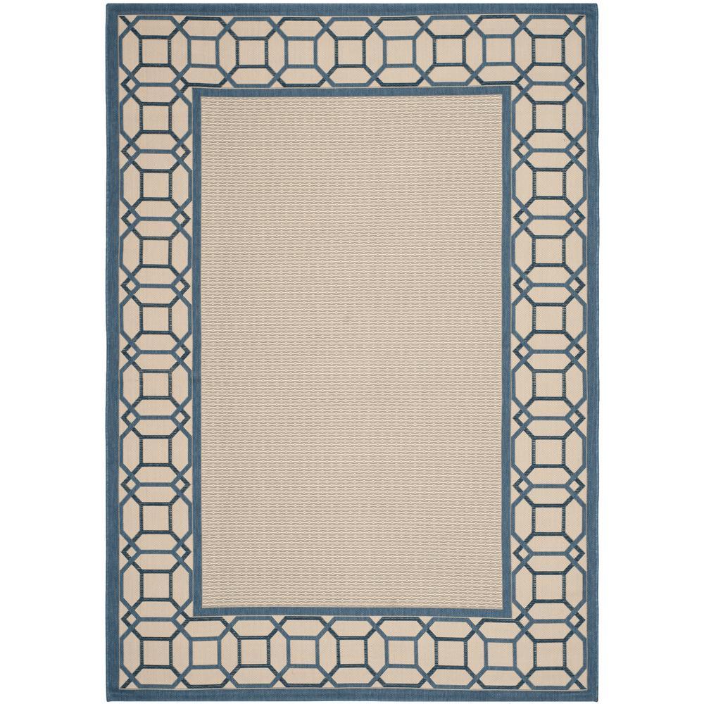 Martha Stewart Azurite Blue 6 Ft. 7 In. X 9 Ft.