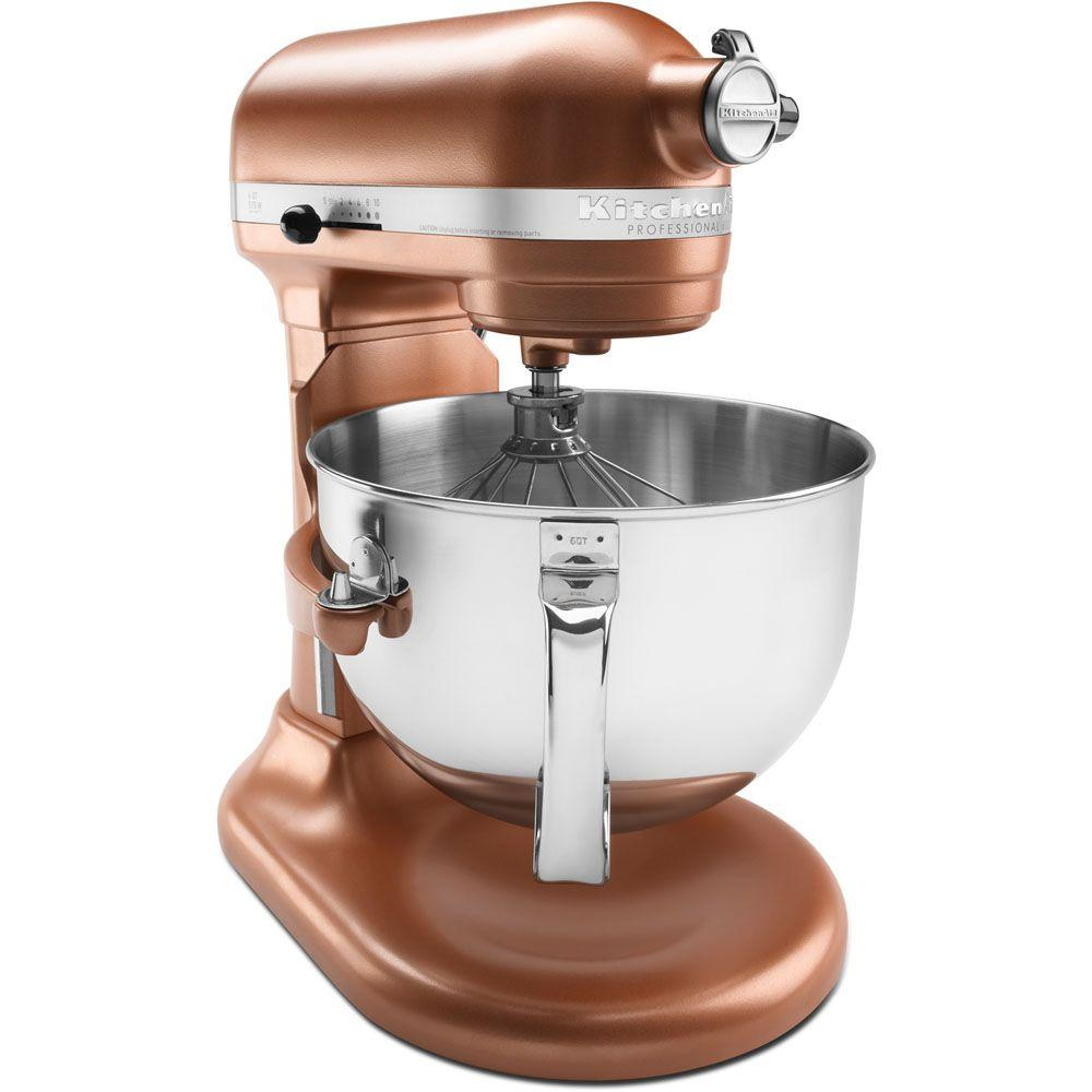 KitchenAid Professional 600 Series 6 qt. Stand Mixer in Copper Pearl-DISCONTINUED