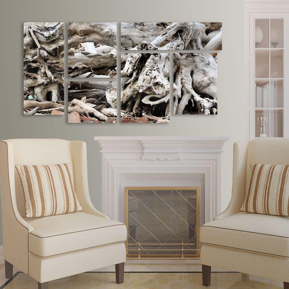 Drift Wood by Kurt Shaffer 6-Panel Art Set