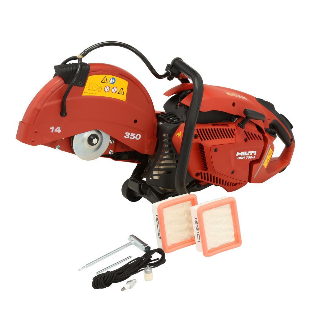 """Hilti DSH 700-X 70CC 14"""" Hand-Held Gas Saw"""