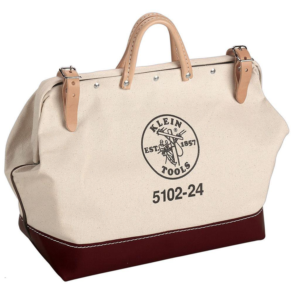 24 in. Canvas Tool Bag