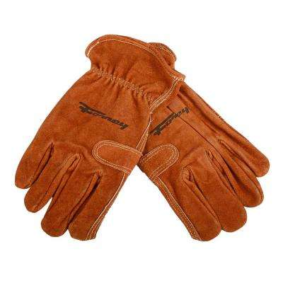 Premium Cowhide Leather Fencer Gloves (Men's L)