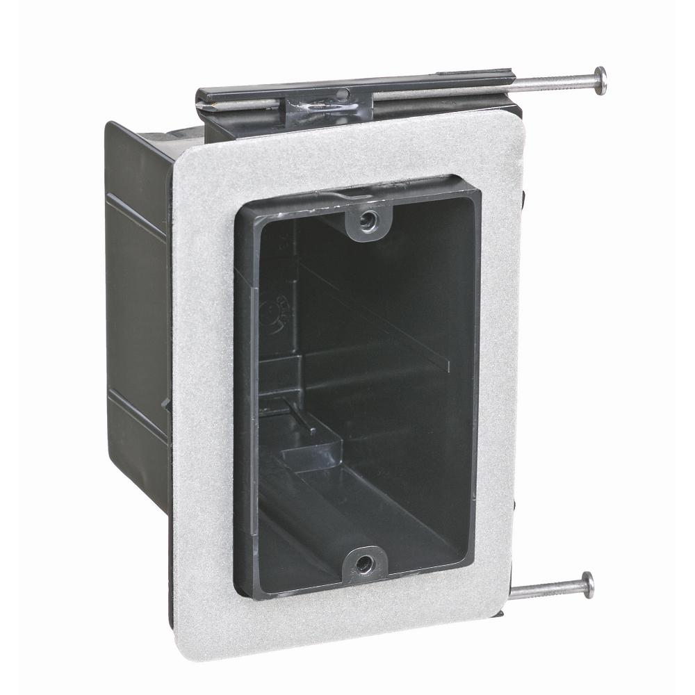 1-Gang 22-1/2 cu. in. Non-Metallic Vapor Tight Wall Box (Case of 50)