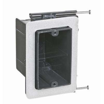 1-Gang 22-1/2 cu. in. Non-Metallic Vapor Tight Wall Box (Case of 50)