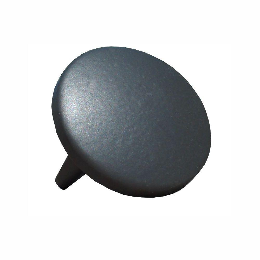 1.9 in. Aluminum Round ADA Handrail Bronze Endcap