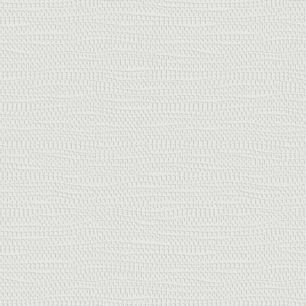 White Grasscloth Wallpaper: Graham & Brown 56 Sq. Ft. Mercer Paintable White Wallpaper
