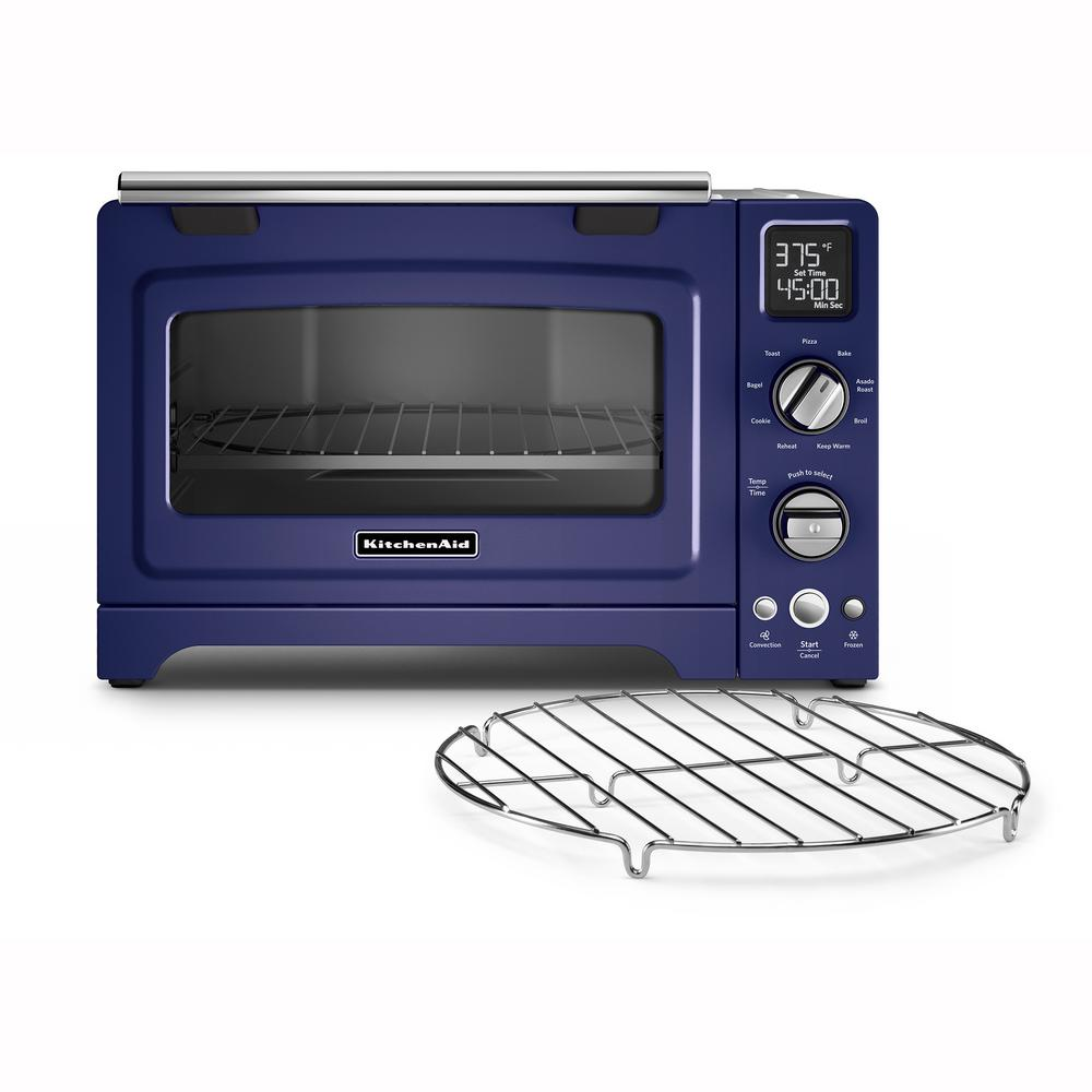 KitchenAid 2000 W 4-Slice Cobalt Blue Convection Toaster