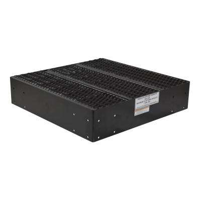 8.4375 in. x 36 in. x 36 in. Black Powder Coat Steel Modular Work Platform