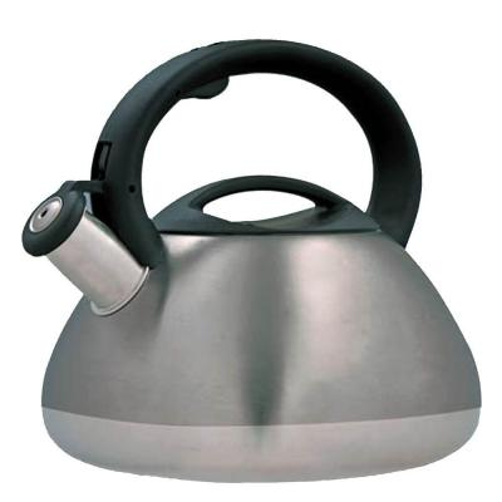 Sphere 12-Cup Stovetop Tea Kettle in Smoke