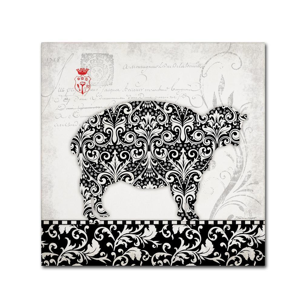 ART PRINT Baa Baa Black Sheep Stephanie Marrott