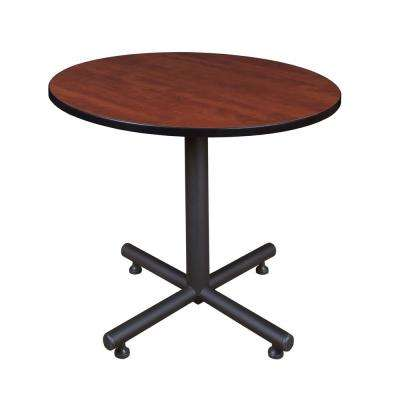 Kobe Cherry 36 in. Round Breakroom Table