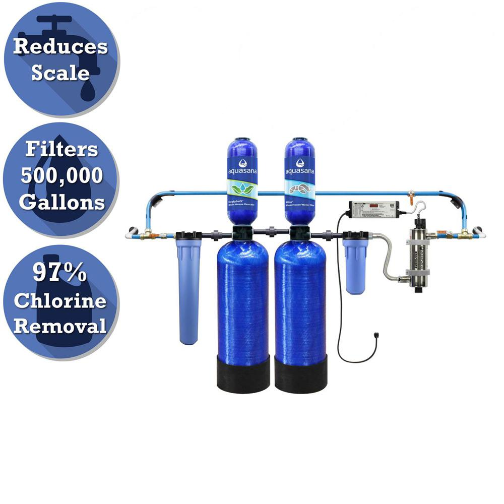 Rhino Series 6-Stage 500,000 Gal. Well Water Filtration System with Simply