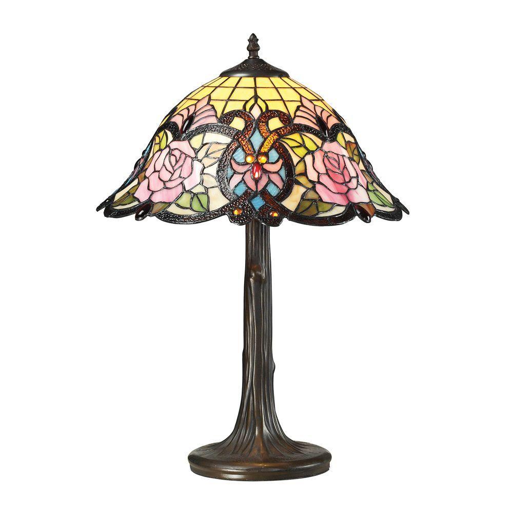 De Beauvoir Collection 22 in. Dark Bronze Table Lamp