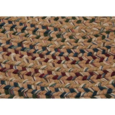Winchester Evergold 8 ft. x 10 ft. Oval Moroccan Area Rug