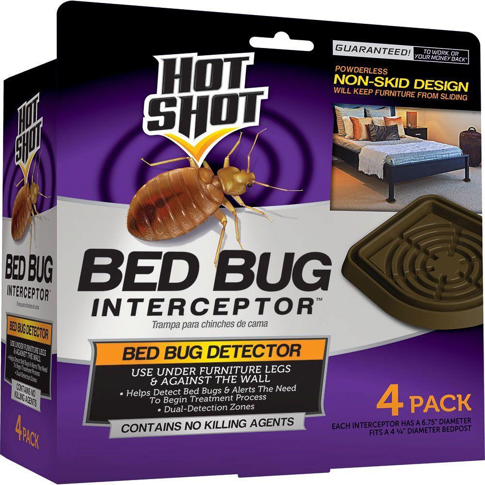 Hot Shot Bed Bug Interceptor (4-Count) by Hot Shot