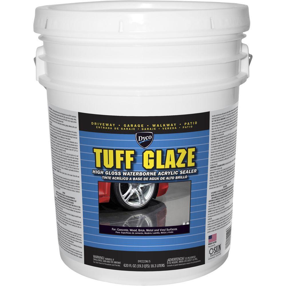 Tuff Glaze 5 gal. C22W Clear High Gloss Waterborne Acrylic Sealer