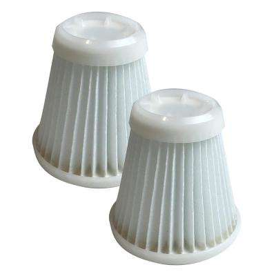 Vacuum Filters Reusable Replacement for BLACK+DECKER Pivot Part PVF100 (2-Pack)