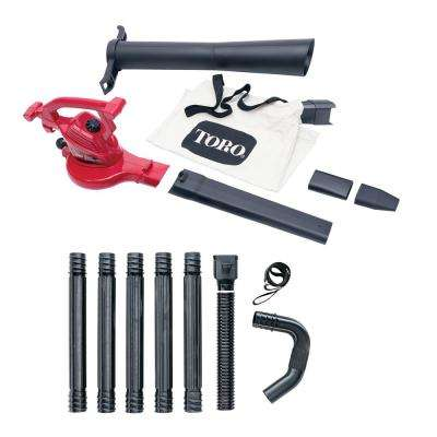 Ultra 12 Amp Electric Leaf Blower/Vacuum/Mulcher and Gutter Cleaning Combo Kit