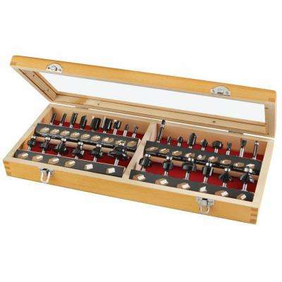 Carbide Multi-Purpose Router Bit Set (30-Piece)