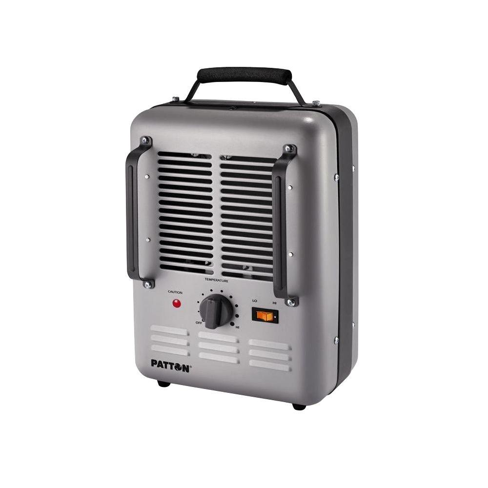 Patton 1500 watt utility space heater puh680 u the home Space heating options