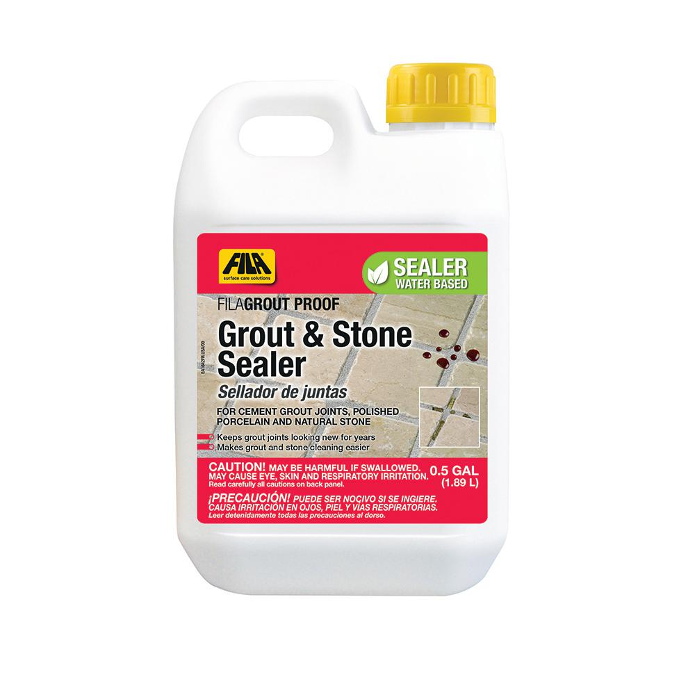 Grout Proof 0.5 Gal. Tile and Stone Sealer
